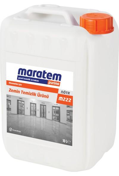 Maratem M222 Otomatlar İçin Zemin Temizlik Ürünü 10 L