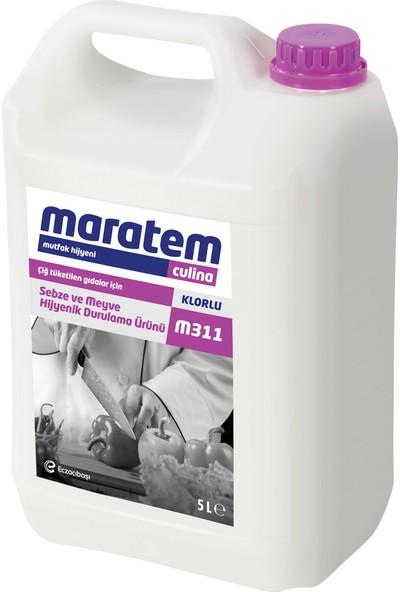 Maratem - Culina M311 Sebze Ve Meyve Yıkama Ürünü 5 Lt