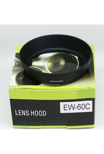 DBK Canon Ef-S 18-55Mm Lens İçin Ew-60C Parasoley Lens Hood