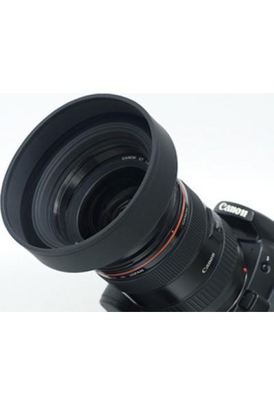 Ayex Üç Kademeli Kauçuk Lens 49Mm Hood (Parasoley)