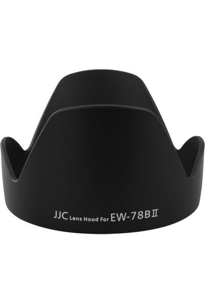 Ayex Canon 28-135Mm Is - Ef 28-200/F3.5 - 5.6 Usm Lens İçin JJC Ew-78B Iı Parasoley