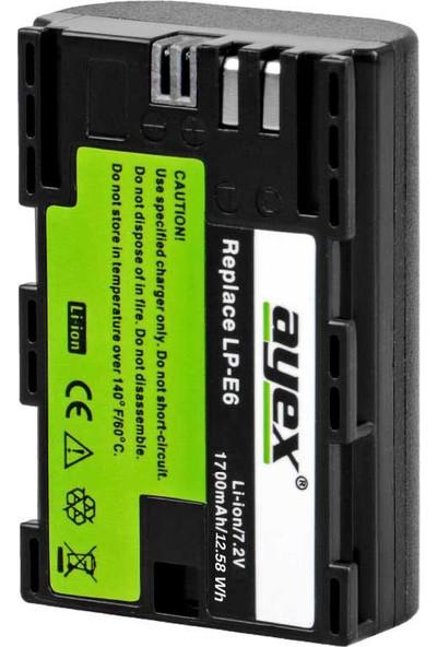 Ayex Canon İçin Lp-E6 Batarya