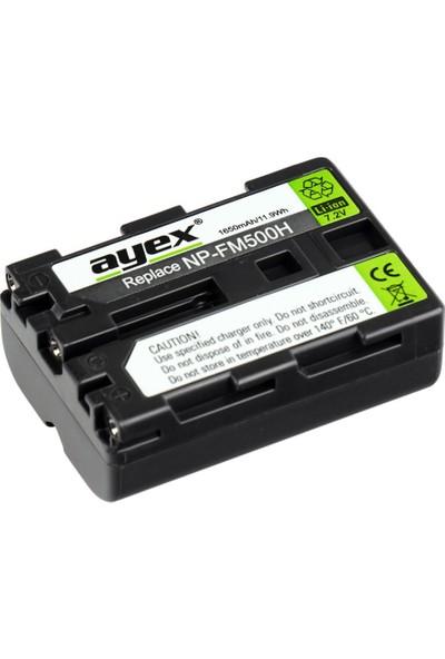 Ayex Sony İçin Np-Fm500H Batarya