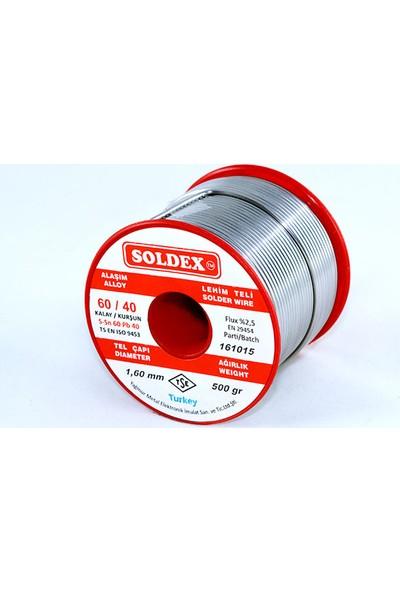 Soldex 60-40 Lehim Teli 500 Gr 1 mm