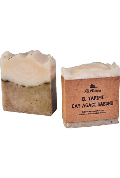 The Soap Factory Çay Ağacı Sabunu 100g