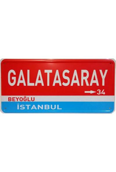 Dekoratif Plaka Galatasaray Beyoğlu İstanbul