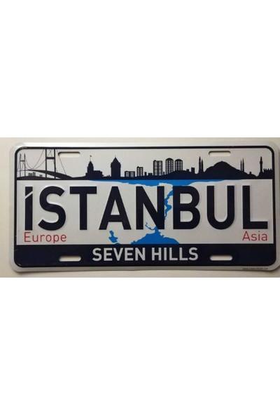 Dekoratif Plaka İstanbul 7 Tepe