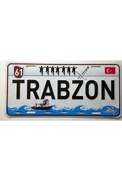 Dekoratif Plaka Trabzon