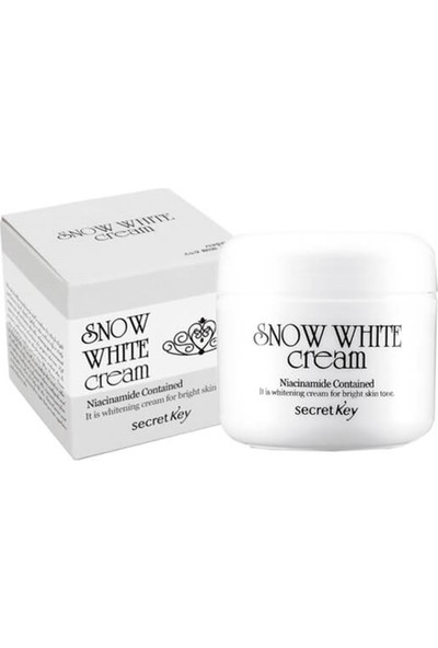 Secret Key Snow White Cream - Cilt Beyazlatıcı Krem