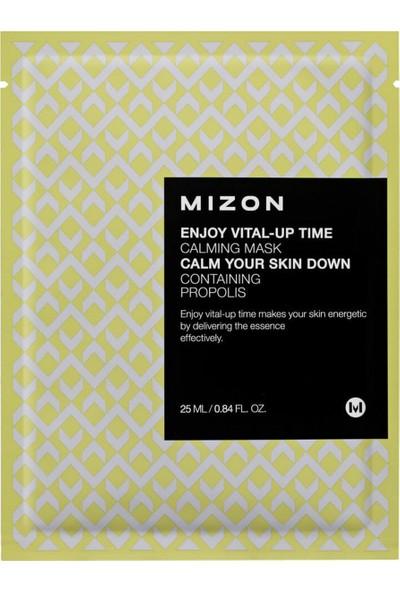 Mizon Enjoy Vital-Up Time Calming Mask - Yatıştırıcı Onarıcı Propolis Özlü Maske