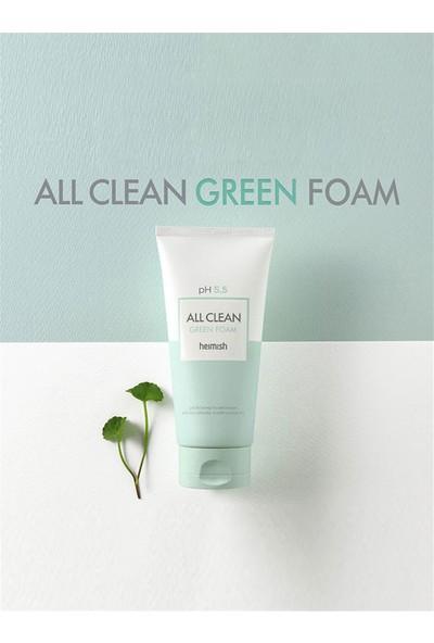 Heimish All Clean Green Foam - Ph 5,5 Değerinde Hassas Ciltlere İçin Temizleyici