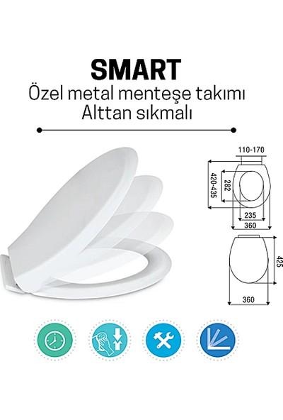 Nkp Smart Yavaş Kapanan Klozet Kapağı