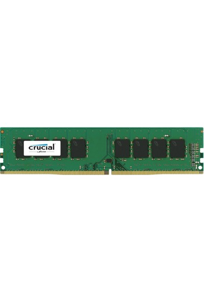 Crucial 4GB DDR4 2400Mhz UDIMM CL17 SRx8 Ram (PC4-19200)