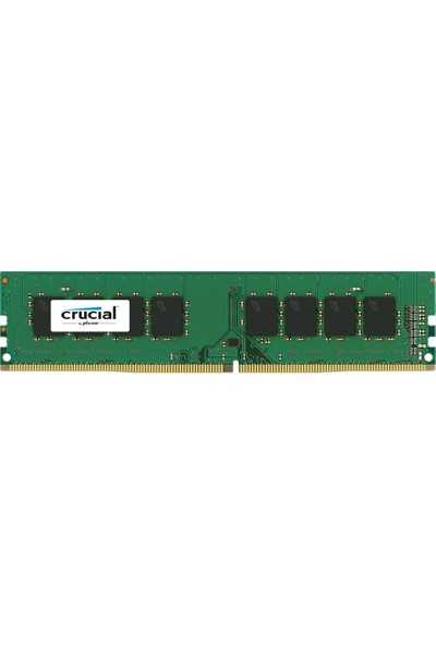 Crucial 16GB DDR4 2400Mhz UDIMM CL17 DRx8 Ram (PC4-19200)