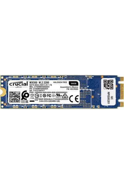 Crucial MX500 500GB 560MB/s-510MB/s M.2 SATA 2280 SSD
