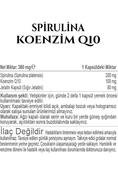 Fitonatural - Spirulina & Koenzim Q10