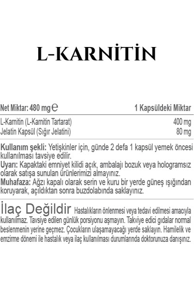 Fitonatural Lkarnitin