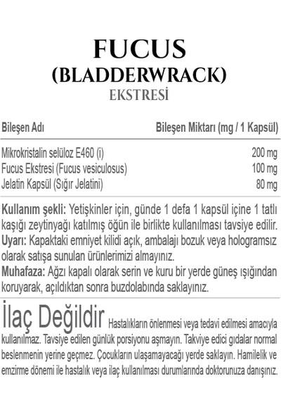 Fitonatural - Fucus (Bladderwrack) Ekstresi