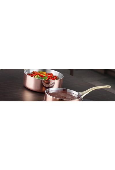 Altınbaşak Bakır Mini Kaçerola Tava 12 Cm - Zafer Endüstriyel Mutfak