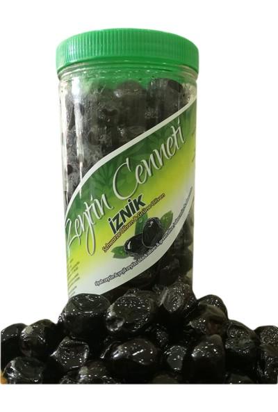 Zeytin Cenneti Doğal Fermente 201-230 (İznik İrisi)1 Kg Siyah Yağlı Sele
