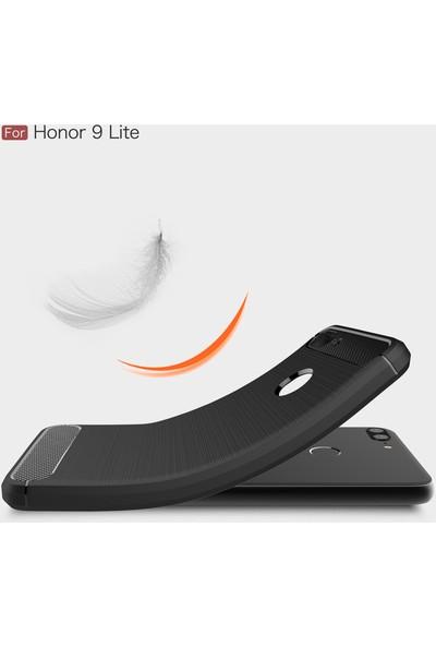 Microsonic Honor 9 Lite Kılıf Room Silikon Lacivert