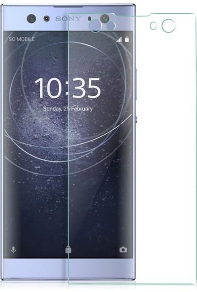 Microsonic Sony Xperia XA2 Ultra Temperli Cam Ekran Koruyucu Film