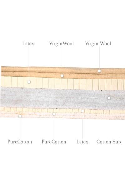 Wellmatt Lataja Japon Yatağı (Pamuk + Yün + Lateks)