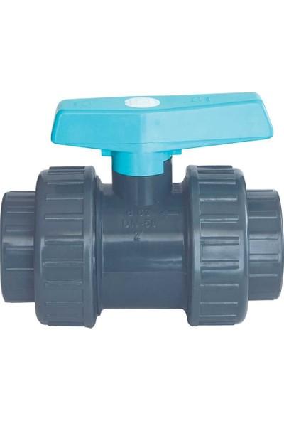 Gemaş Pvc Küresel Su Vanası Q 50mm