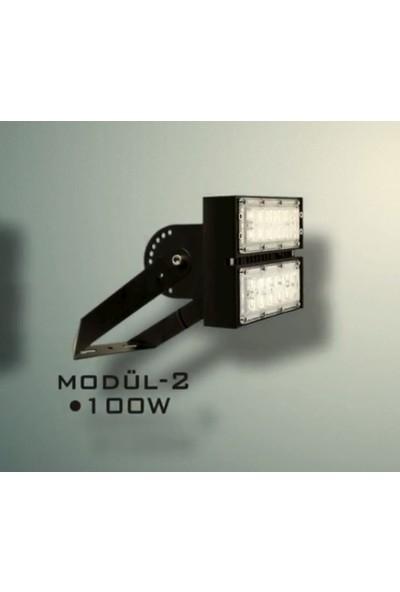 Nixon Led Multipro Pojektör 100W 5000K 13000 Lm 50D Beyaz Işık