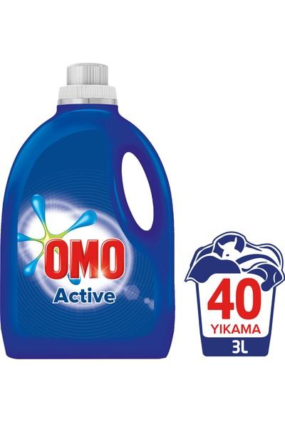 Omo Active Sıvı Çamaşır Deterjanı 3000 ml