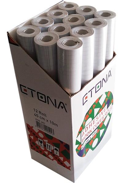 Etona Asetat Yapışkanlı Rulo 45X10 Etn-601 Tekli