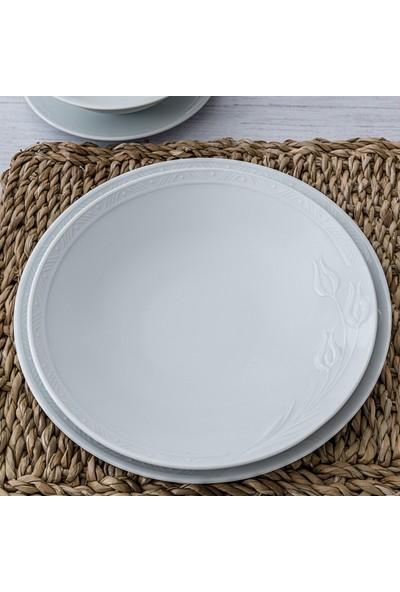 Güral Porselen Rene 24 Parça 6 Kişilik Yemek Takımı
