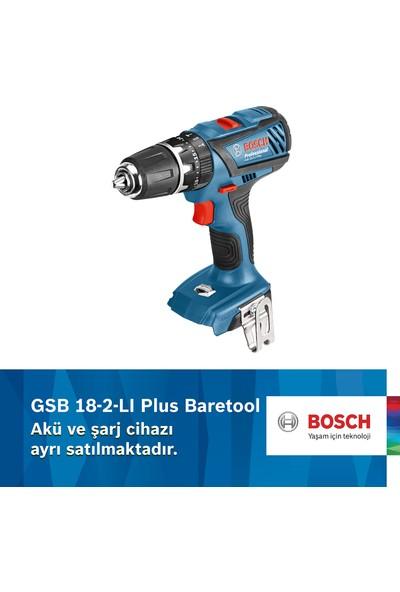 Bosch Professional GSB 18 - 2-LI Plus Akülü Delme / Vidalama Makinesi Baretool