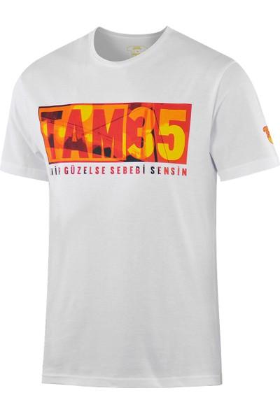 Göztepe Tam 35 Beyaz T-Shirt