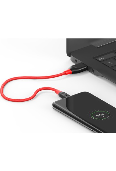 Tronsmart ATC5 Nylon USB to Type-C Kablo