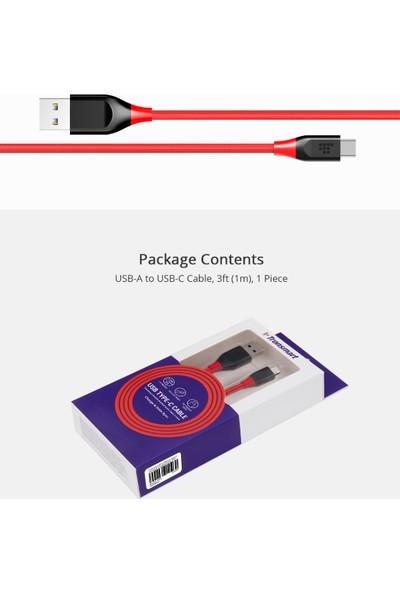Tronsmart ATC6 Nylon USB to Type-C Kablo