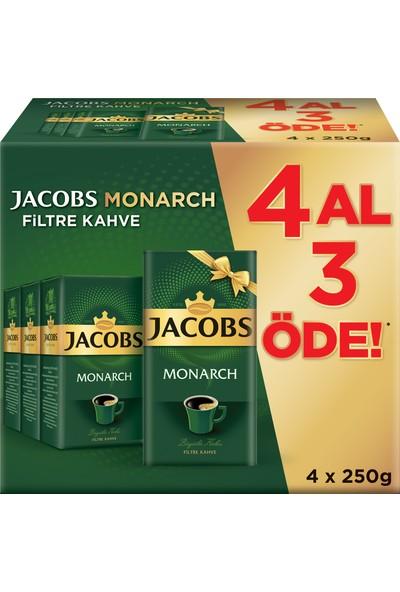 Jacobs Monarch Filtre Kahve 250 gr 4 Al 3 Öde !