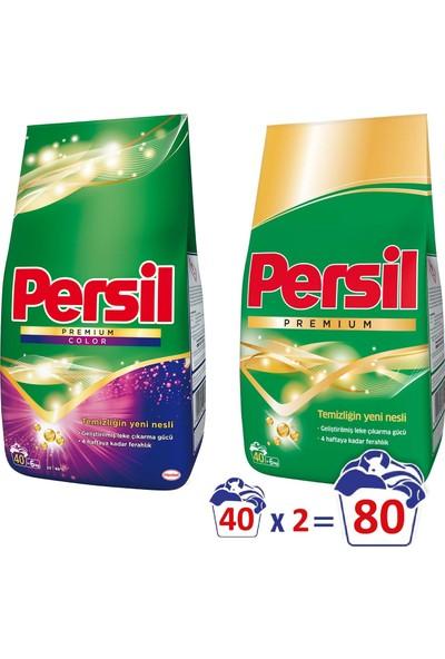 Persil Premium 6 kg & Persil Premium Color 6 kg Toz Çamaşır Deterjanı Seti