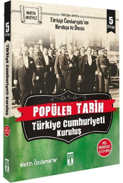 Türkiye Cumhuriyeti: Kuruluş (5 Kitap)-Metin Özdamarlar