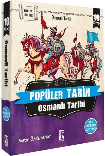 Popüler Tarih-Osmanlı Tarihi (10 Kitap)-Metin Özdamarlar