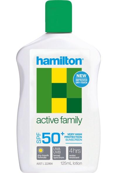 Hamilton Active Family Lotion SPF 50 Güneş Koruyucu Losyon - 125 ml
