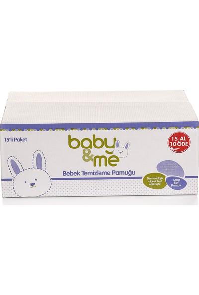 Baby&Me Temizleme Pamuğu 15 x 60 cm Adet