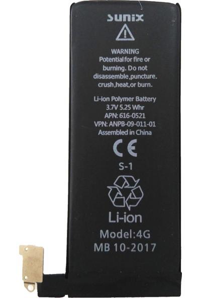 Sunix Apple iPhone 4 Batarya Pil 1420 mAh