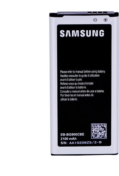 Sunix Samsung S5 Mini Batarya Pil EB-BG800CBE 2100 mAh