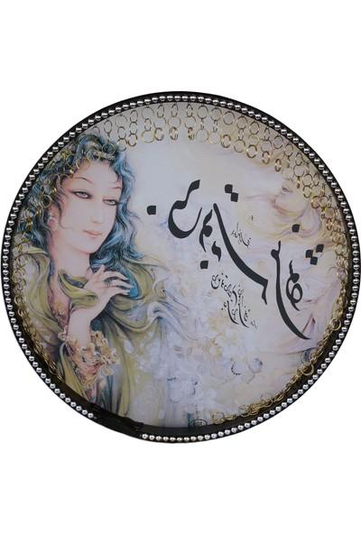 Dest İran Yapımı Resimli Erbane Def Bendir NDR103