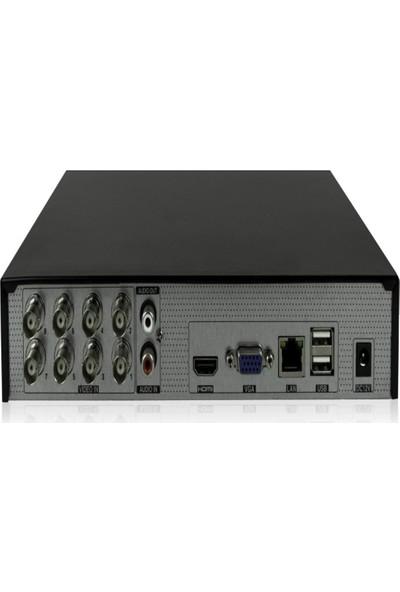 NextCam HD8600 1080P AHD DVR Cihazı 8 Kanal