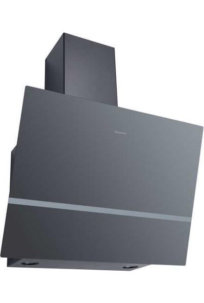 Dominox DPJ 615 V BK A Davlumbaz, 60 cm, Siyah