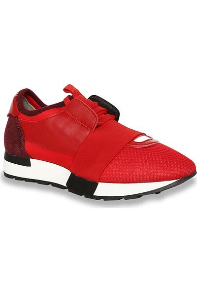 Iva Mae 1081- Kırmızı Anorak Kırmızı Kadın Sneaker