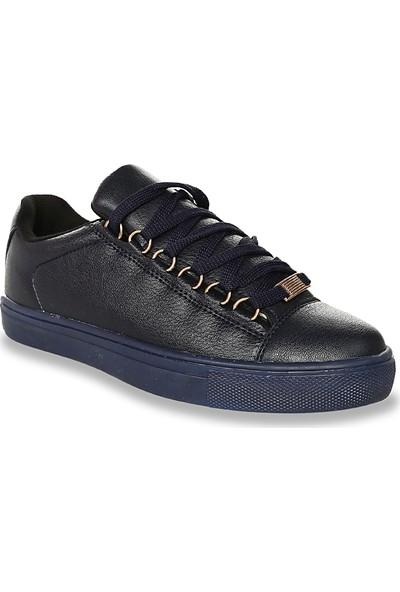 Iva Mae 1092- Lacivertvert Kadın Sneaker