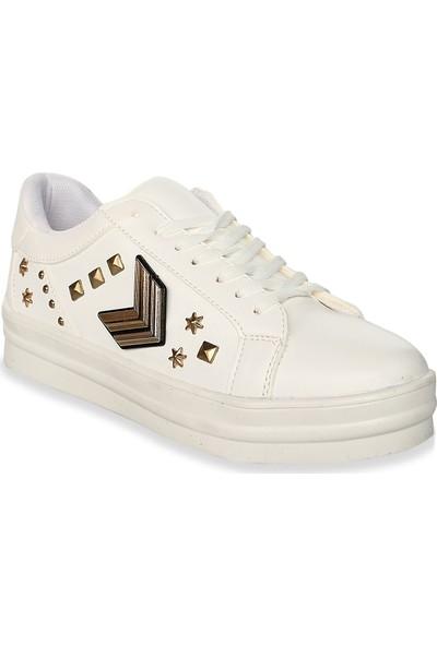 Iva Mae 1105- Beyaz Kadın Sneaker